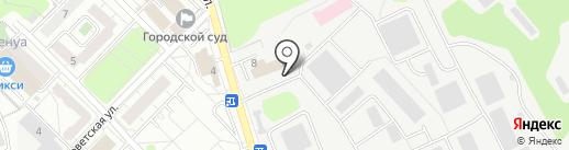 Спецтехноткань на карте Красногорска