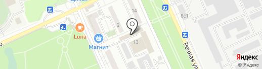 Бизнес на карте Красногорска