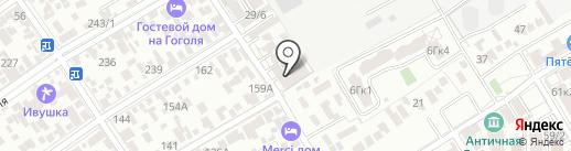 АнапаСервисГрупп на карте Анапы