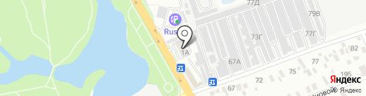 EMEX на карте Анапы