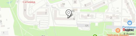 КБ МФбанк на карте Красногорска