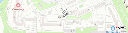 Пенная прохлада на карте Красногорска