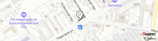 НЭСК на карте Анапы