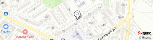 Юлия на карте Анапы