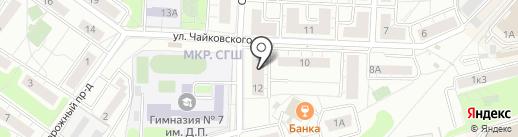 ТФОМС МО на карте Красногорска
