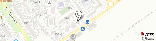 Офтомологическогический центр на карте Анапы
