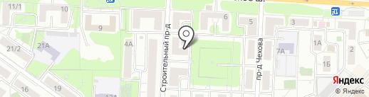 Черная Пантера на карте Красногорска