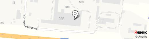 Мотор-Бетон на карте Анапы