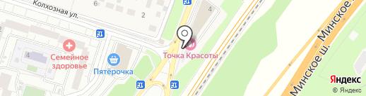 Билайн на карте Трехгорки
