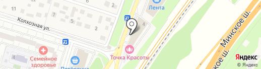 AA-designer на карте Трехгорки
