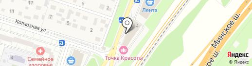 Платежный терминал, Московский кредитный банк, ПАО на карте Трехгорки