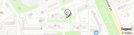 Елена на карте Красногорска