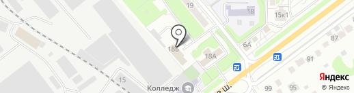 Рада на карте Красногорска