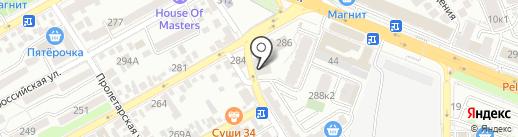 Advance-Dev на карте Анапы