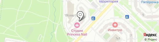 Манго на карте Москвы