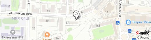 Копейка на карте Красногорска