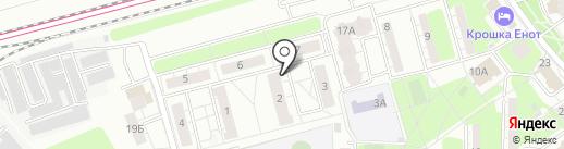 Контур Строй на карте Красногорска