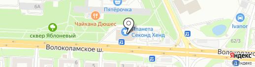 Эльдорадо на карте Красногорска