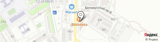 Белорусские продукты на карте Анапы