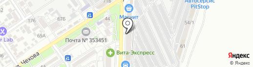 Ассорти-Экспресс на карте Анапы