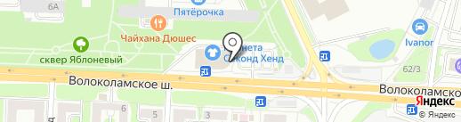 36,6 на карте Красногорска