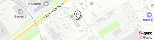 Саркон на карте Красногорска