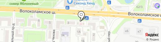 ББР банк на карте Красногорска