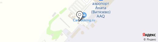 У фонтана на карте Анапы