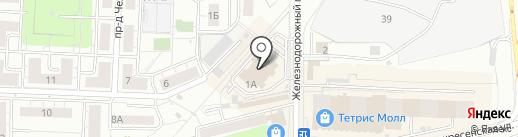 Магазин чулочно-носочных изделий на карте Красногорска