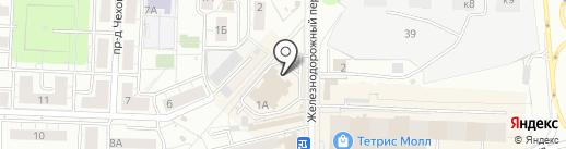 Северная птицефабрика на карте Красногорска