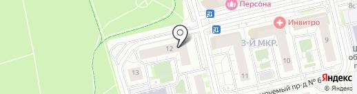 Тропикана на карте Московского