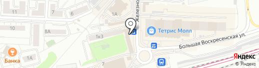 Твой размер на карте Красногорска