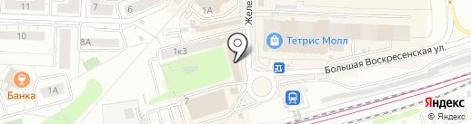 Магазин игрушек и канцелярских товаров на карте Красногорска