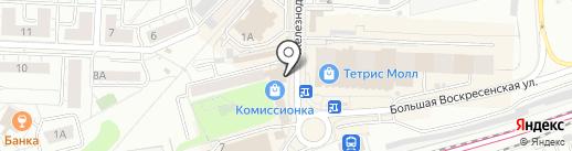 Мастерская по ремонту сотовых телефонов на карте Красногорска