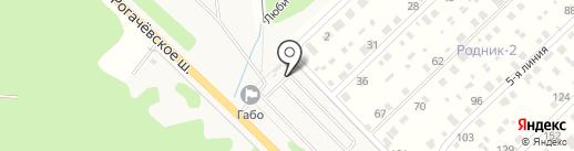 ГАБО, АНО на карте Глазово