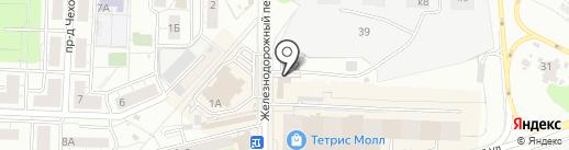 Хмелёфф на карте Красногорска