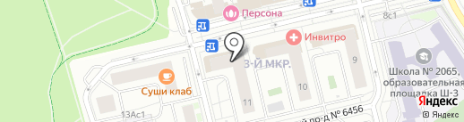 Перспектива на карте Московского