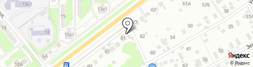 Добрый на карте Красногорска