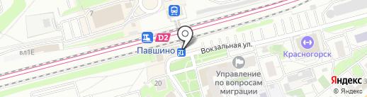Честная еда на карте Красногорска