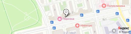 Московский отдел социальной защиты населения Новомосковского административного округа г. Москвы на карте Московского