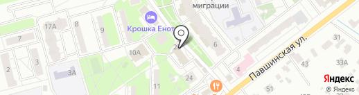 Магазин мясной продукции на карте Красногорска