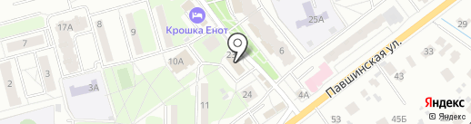 Служба по ремонту окон на карте Красногорска