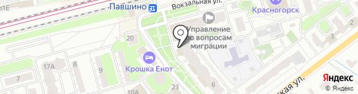 Красногорский Союз многодетных на карте Красногорска