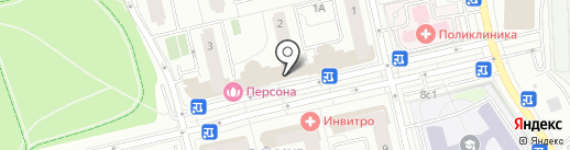 Платежный терминал, Московский кредитный банк, ПАО на карте Московского