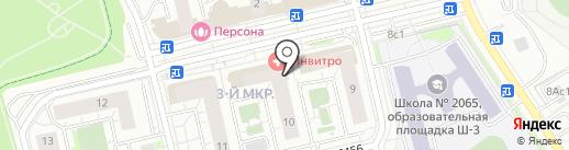 Paris на карте Московского