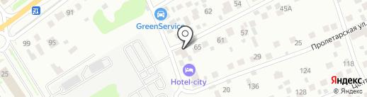 ГрузБетон на карте Красногорска