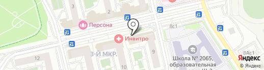 ВкусВилл на карте Московского