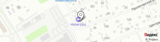 Hotel-city на карте Красногорска