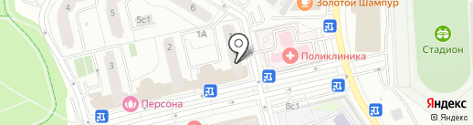 Ломбард Комфорт на карте Московского