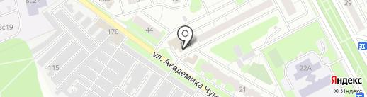 Магазин строительных материалов на карте Московского
